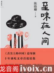 陈晓卿-至味在人间有声小说打包下载